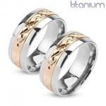 Snubní prsteny titan HKTT1038 [0]