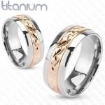 Snubní prsteny titan HKTT1038 [1]