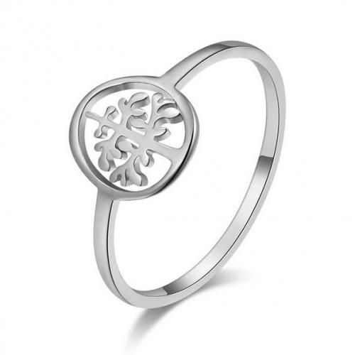 Ocelový prsten strom života (53)