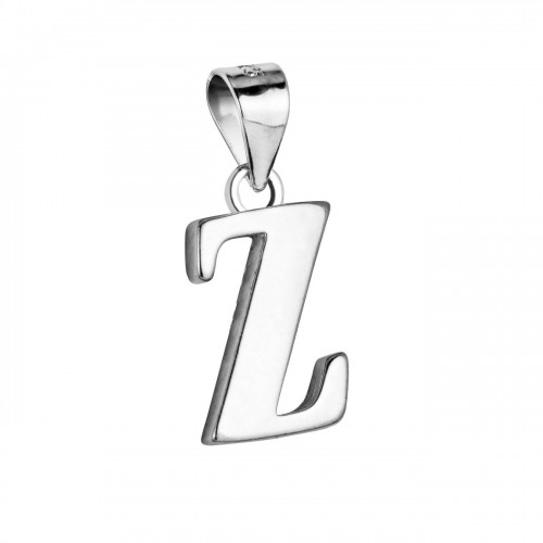"""Stříbrný přívěsek - písmeno """"Z"""""""