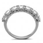 Ocelový prsten se zirkony (52) [5]