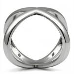 Extravagantní ocelový prsten (50) [2]