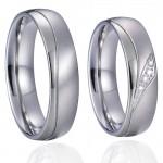 Snubní prsteny chirurgická ocel [2]