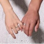 Snubní prsteny chirurgická ocel s pískováním [1]