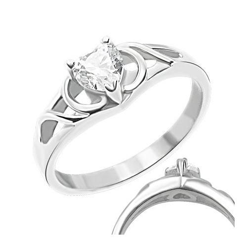 Prsten chirurgická ocel LZRC009