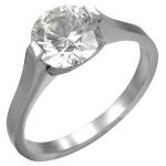Prsten chirurgická ocel s kamínkem LXRX001 [0]
