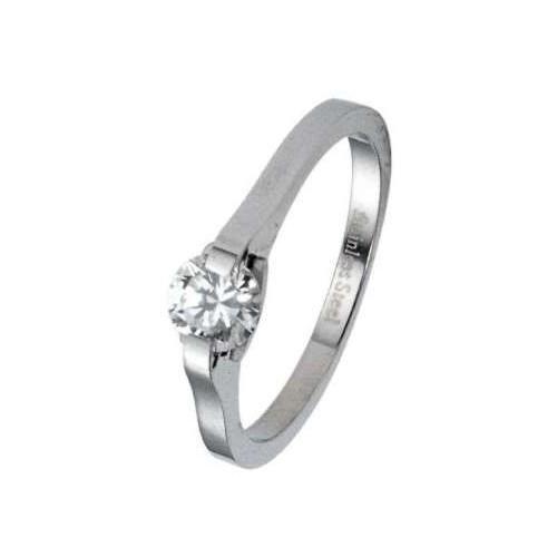 Prsten chirurgická ocel s kamínkem RSSJ03
