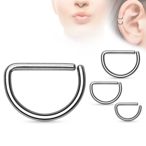 Piercing do nosu/ucha (1,2 x 8 mm)