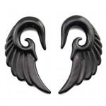 Roztahovák do ucha akrylát - křídlo (4 mm) [1]