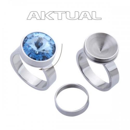 Ocelový prsten CHANGE+GO! (56)