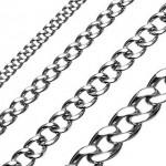 Ocelový řetízek, šíře 7 mm (55 cm, 7 mm) [0]