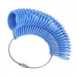 Měrné kroužky plastové, EU velikosti (bílá) [6]