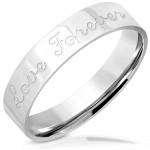 Pánský ocelový snubní prsten Love Forever OPR0108 (60) [0]