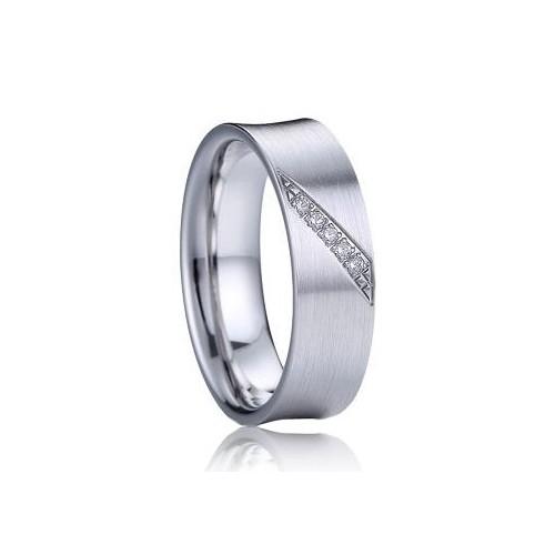 AN1032 Dámský snubní prsten se zirkony stříbro AG 925/1000 (5,40 g, 56)