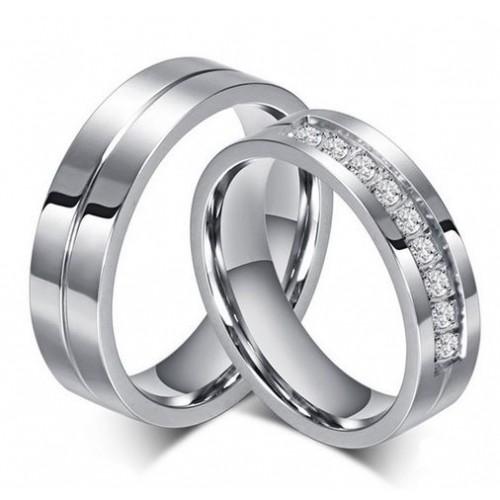 Snubní prsteny chirurgická ocel ALCR054