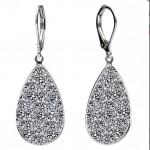 Náušnice Crystals from Swarovski® CRYSTAL CAL [0]