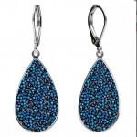 Náušnice Crystals from Swarovski® BERMUDA BLUE [0]