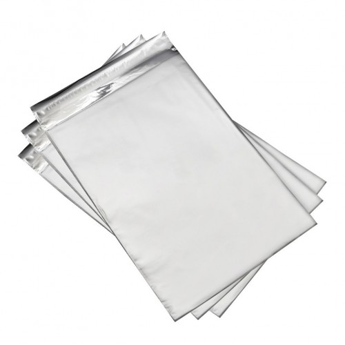 Dárkový sáček stříbrný matný 75 x 120 mm