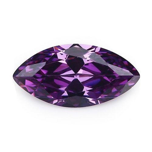 CZ Kubický zirkon - Purple 2,5 x 5 mm