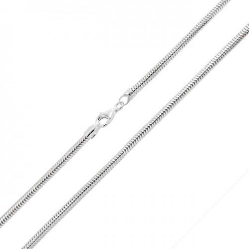 Řetízek - had 2 mm, délka 45 cm