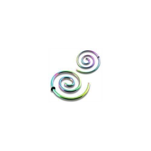Roztahovák - spirála - duhová ocel (0,8 mm)