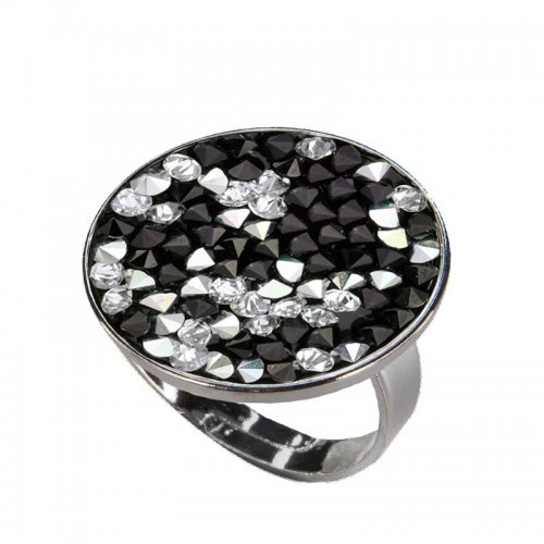 Prsten s krystaly Crystals from Swarovski® CAL PEPPER