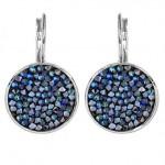 Náušnice s krystaly Crystals from Swarovski® BLUELIZED [0]