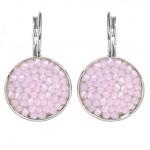 Náušnice s krystaly Crystals from Swarovski® ROSE WATER OPAL [0]