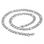Ocelový řetěz figaro, tl. 11 mm (55 cm) [1]