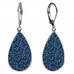 Náušnice Crystals from Swarovski® BERMUDA BLUE [1]