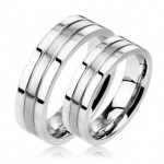 OPR1406 Snubní prsteny ocel - pár 6mm [0]