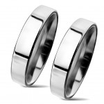 NSS3004 Snubní prsteny chirurgická ocel 4mm - pár [0]