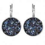 Náušnice s krystaly Crystals from Swarovski® BLUELIZED [1]