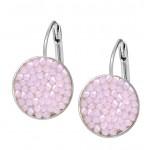 Náušnice s krystaly Crystals from Swarovski® ROSE WATER OPAL [1]