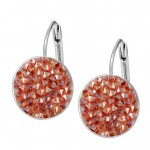 Náušnice s krystaly Crystals from Swarovski® RED MAGMA [1]