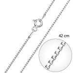 Stříbrný řetízek kulatý délka 42 cm 30014 [0]